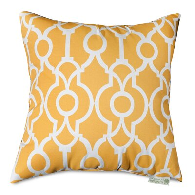 Athens Throw Pillow Size: 24 H x 24 W, Color: Citrus