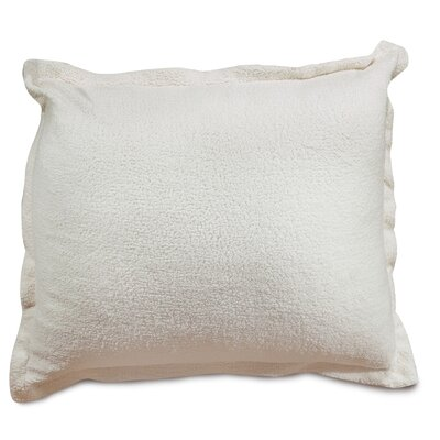 Solid Sherpa Floor Pillow