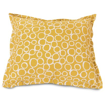 Fusion Floor Pillow Color: Yellow