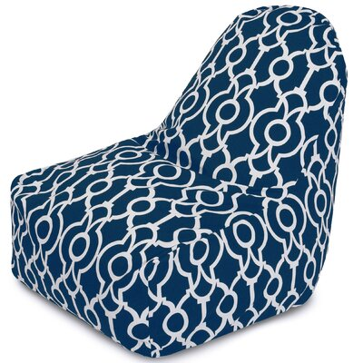 Athens Bean Bag Lounger Color: Navy