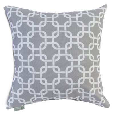 Majestic Home Products Links Pillow - Fabric: Gray, Size: Large