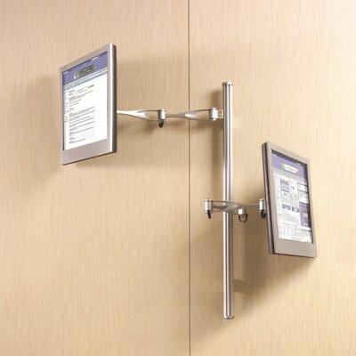 Double Extending Arm/Tilt/Swivel Wall Mount for LCD