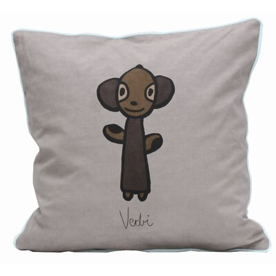 Friends on Your Pillow Friends on Your Verbi Cotton Throw Pillow