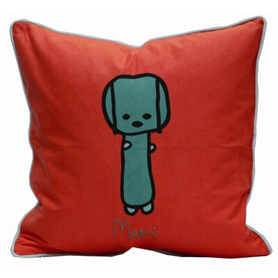 Friends on Your Pillow Friends on Your Marvi Cotton Throw Pillow