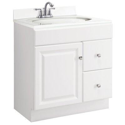 Wyndham 30 Single Bathroom Vanity Base