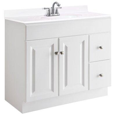 Wyndham 36 Single Bathroom Vanity Base