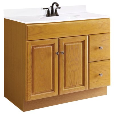 Claremont 36 Single Bathroom Vanity Base