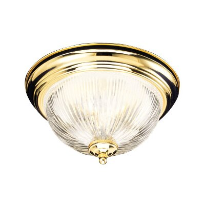 Millbridge Flush Mount Size: 6.88 H x 13.13 W