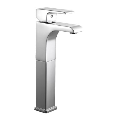 Lyss Single Handle Single Hole Vessel Faucet Finish: Polished Chrome