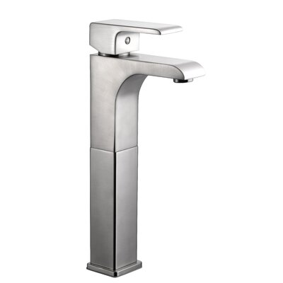 Lyss Single Handle Single Hole Vessel Faucet Finish: Satin Nickel