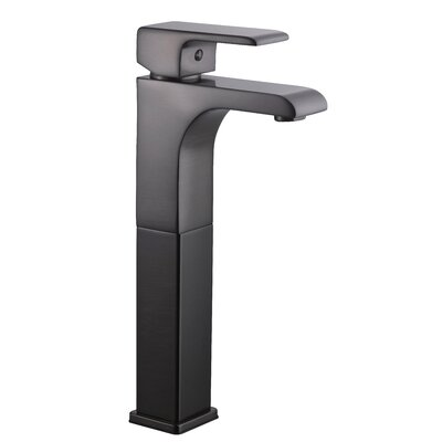 Lyss Single Handle Single Hole Vessel Faucet Finish: Brushed Bronze