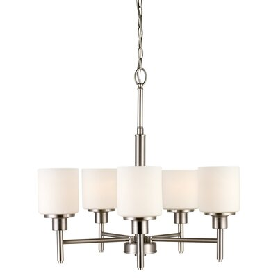Buckleys 5-Light Shaded Chandelier