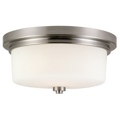 Buckleys 2-Light Flushmount