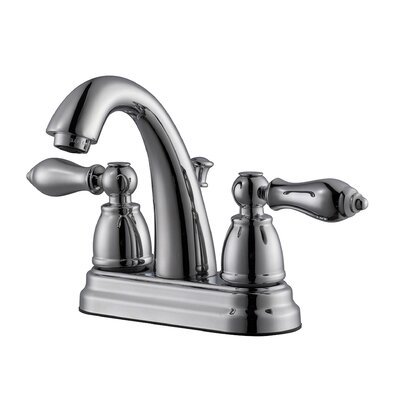Hathaway Double Handle Centerset Standard Bathroom Faucet Finish: Polished Chrome