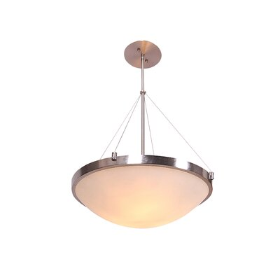 Kersey 1-Light Bowl Pendant