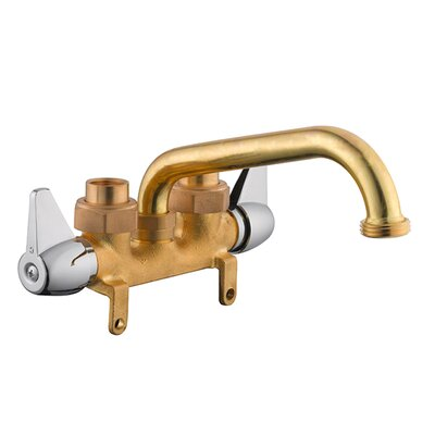 Ashland Double Handle Faucet Finish: Brass