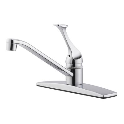 Millbridge Single Handle Kitchen Faucet with Side Spray Side Spray: Without Spray