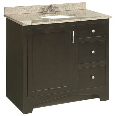 Prue 36 Bathroom Vanity Base
