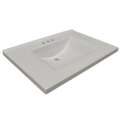 Contempo 26 Single Bathroom Vanity Top