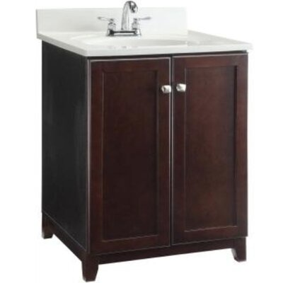 33 Single Bathroom Vanity Base Base Finish: Dark Espresso