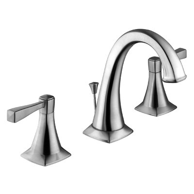 Perth Lavatory Faucet Double Handle with Drain Assembly