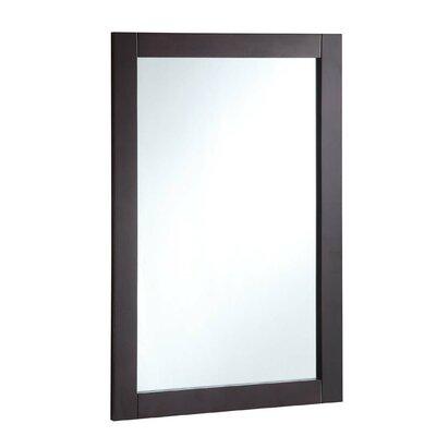 Brayden Studio Rectangle Wood Framed Vanity Mirror