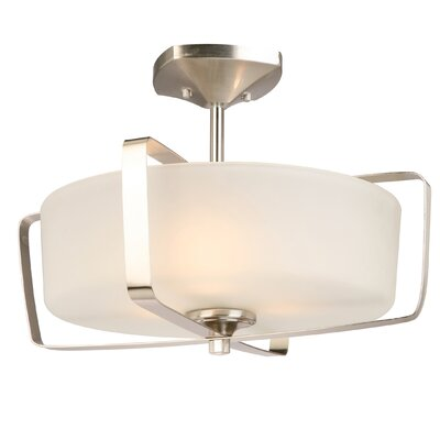 Perth 3-Light Semi Flush Mount