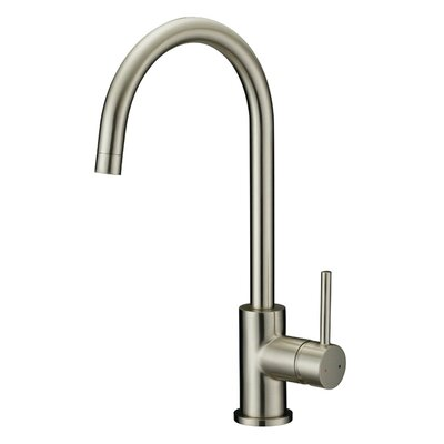 Eastport Single Handle Kitchen Faucet Finish: Satin Nickel