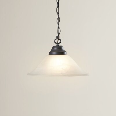 Whitbeck 1-Light Mini Pendant Finish: Oil Rubbed Bronze