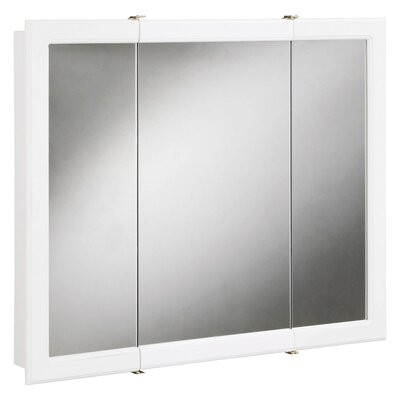 Savanna Tri-View 30 x 30 Surface Mount Medicine Cabinet