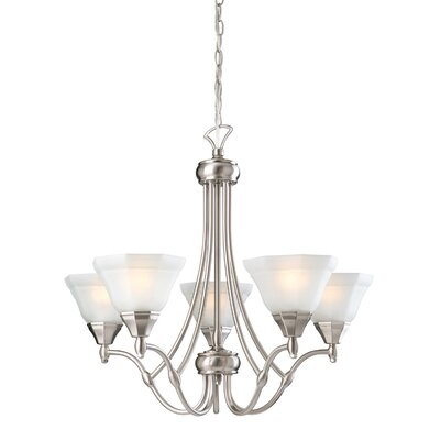 Starla 5-Light Shaded Chandelier