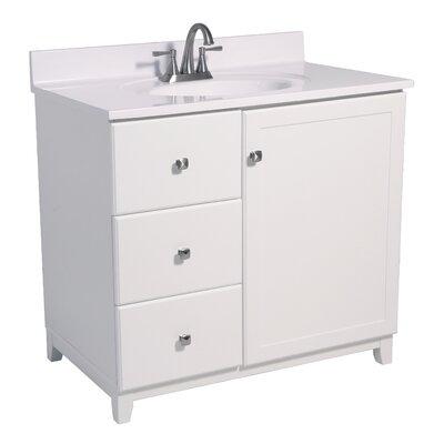 Rosalynn 1-Door 37 Single Bathroom Vanity