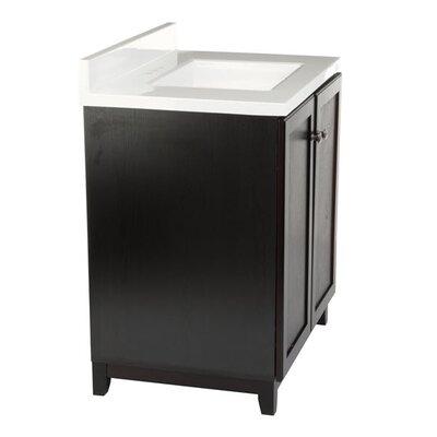 Rosalynn 2-Door 31 Single Bathroom Vanity Base Finish: White