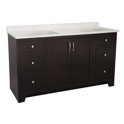 Prue 2-Door 60 Double Bathroom Vanity