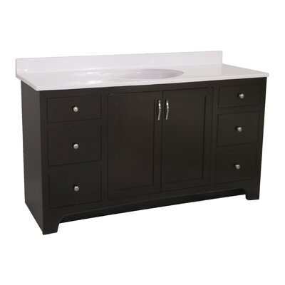 Ventura 2-Door 60 Single Bathroom Vanity