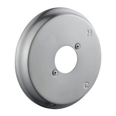 Shower Escutcheon Plate Finish: Satin Nickel
