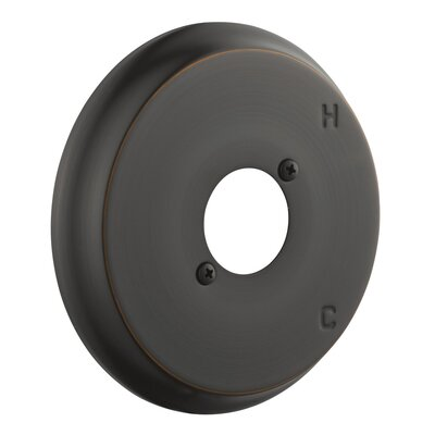 Shower Escutcheon Plate Finish: Oil Rubbed Bronze