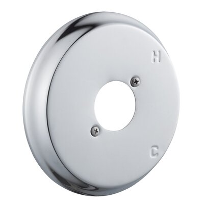 Shower Escutcheon Plate Finish: Polished Chrome