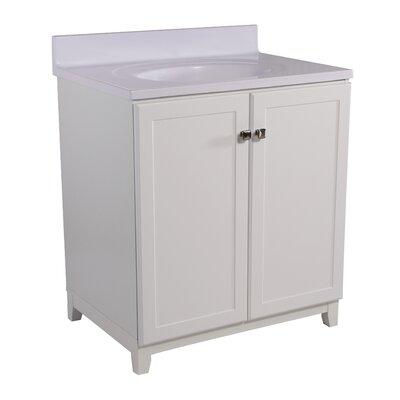 Shorewood 2-Door 31 Single Bathroom Vanity Base Finish: White