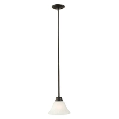 Millbridge 1-Light Mini Pendant Finish: Oil Rubbed Bronze