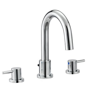 Eastport Widespread Double Handle Bathroom Faucet with Drain Assembly