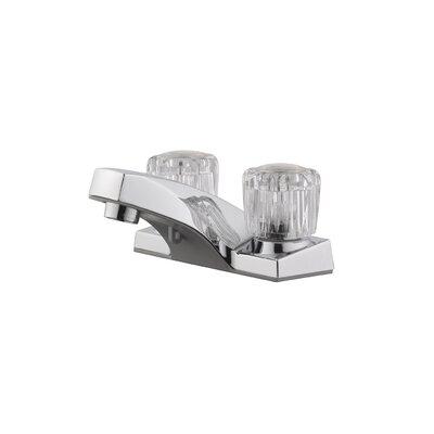 Millbridge Centerset Double Handle Bathroom Faucet with Drain Assembly