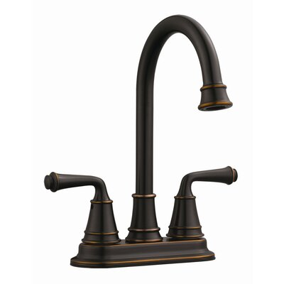 Eden Double Handle Bar Faucet Finish: Oil Rubbed Bronze