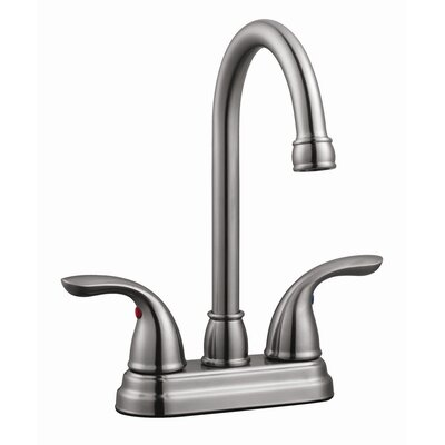 Ashland Double Handle Bar Faucet Finish: Satin Nickel