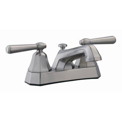 Barcelona Double Handle Centerset Bathroom Faucet Finish: Satin Nickel