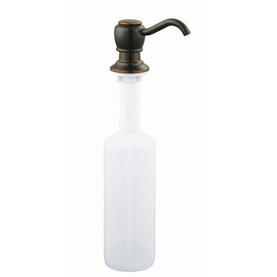 Soap Dispenser Finish: Oil Rubbed Bronze