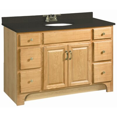 Strickland 48 Double Door 4 Drawers Cabinet Vanity Base