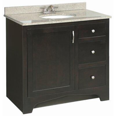 Prue 36 Single Door Cabinet Vanity Base