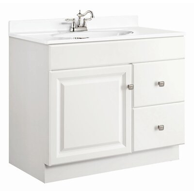 Wyndham 36 Single Door Vanity Base