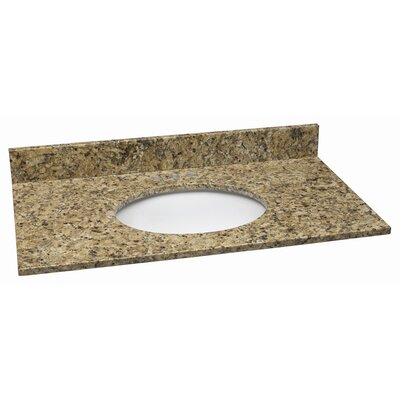 49 Single Bathroom Vanity Top Top Finish: Venetian Gold